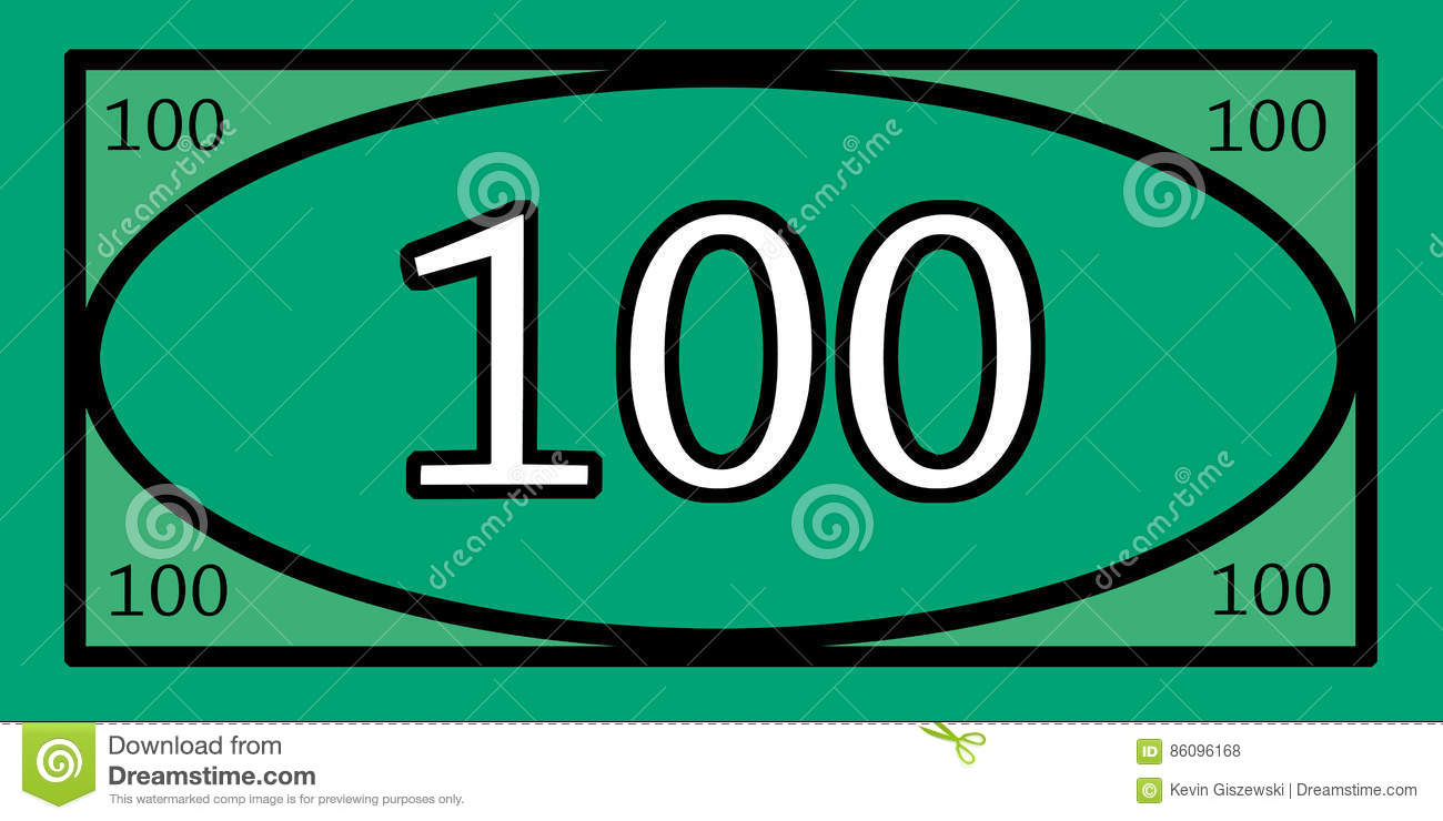 100 Dollar Play Money Stock Photo - Image: 86096168