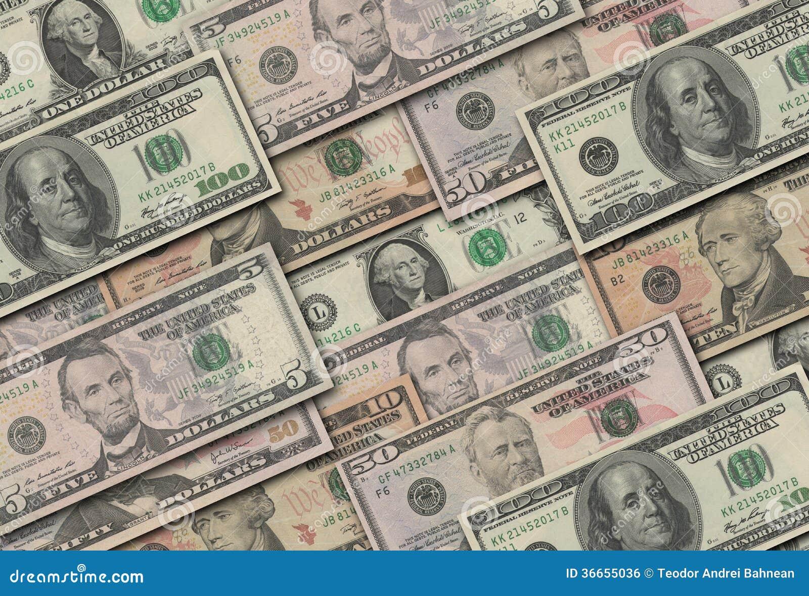 Dollar Sammlung