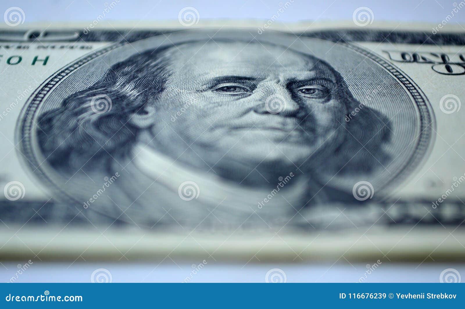 100-Dollar - Schein der Nahaufnahme