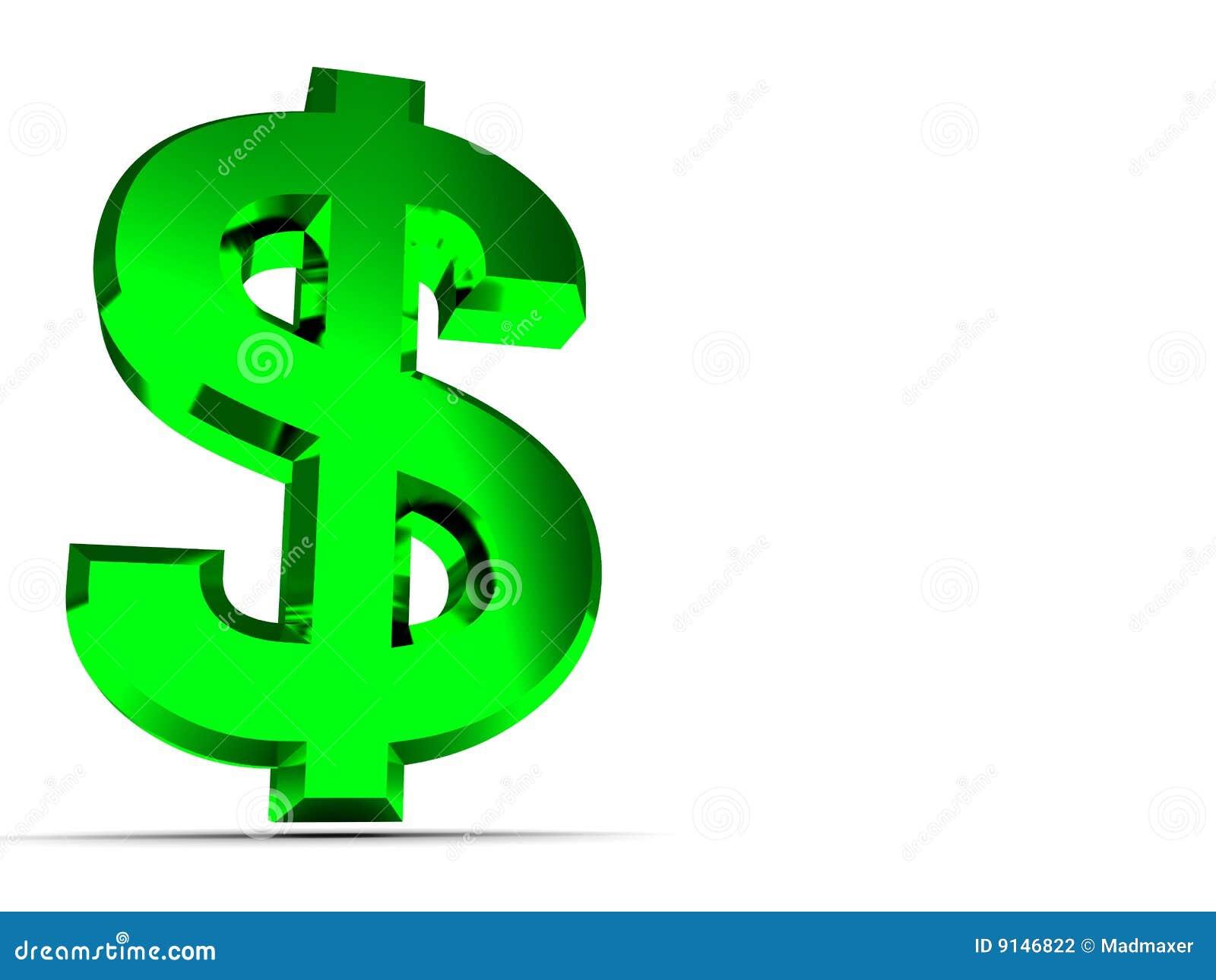 Dollar sign background stock illustration  Illustration of