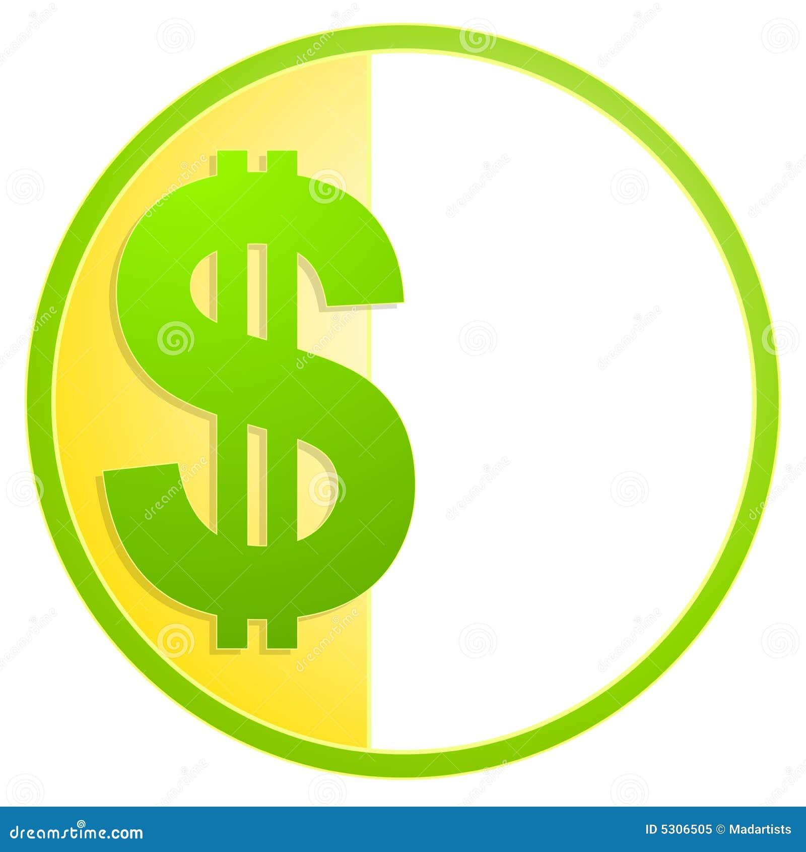 Dollar Sign Cash Icon Or Logo Stock Illustration Illustration Of