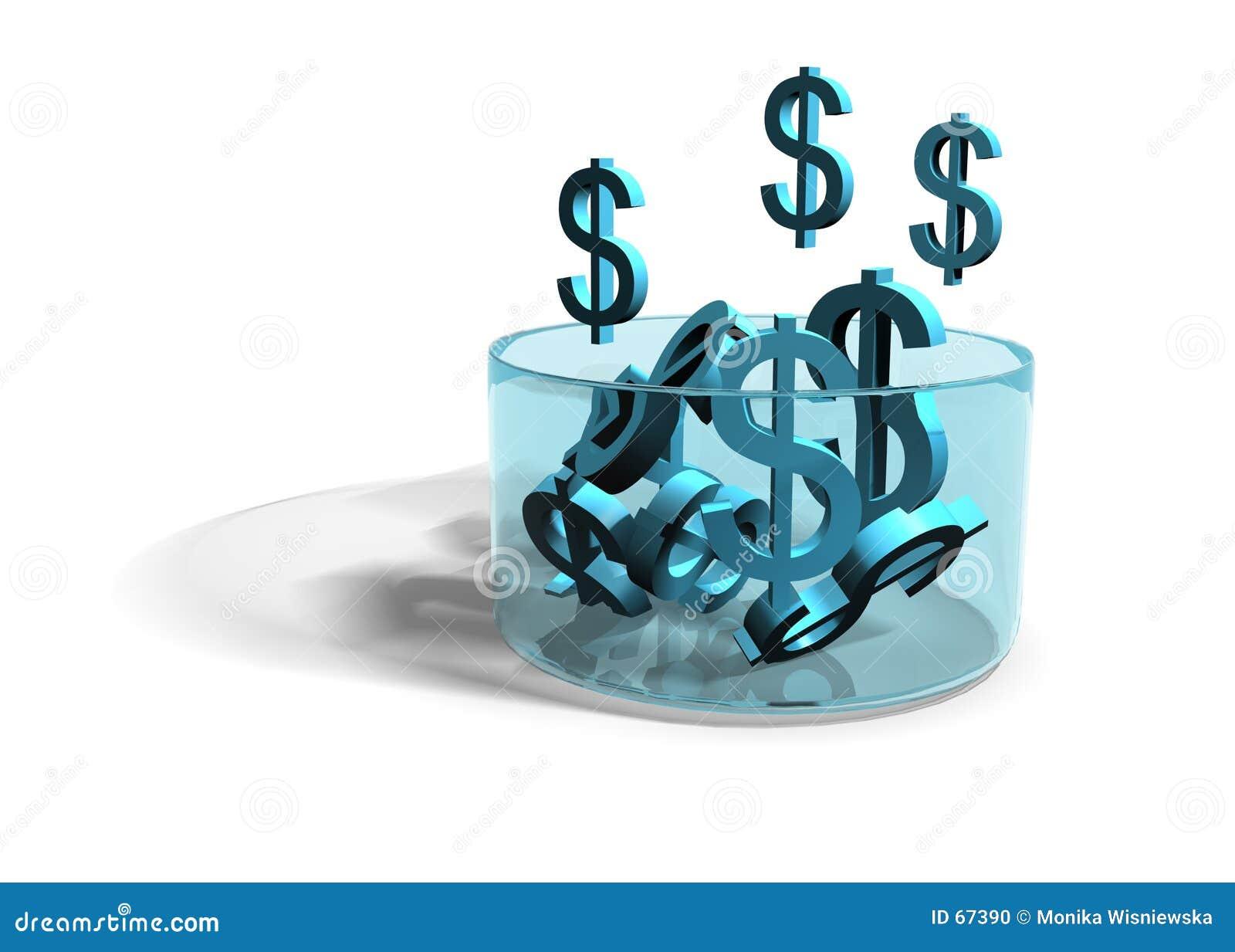 Dollar som växer inkomst