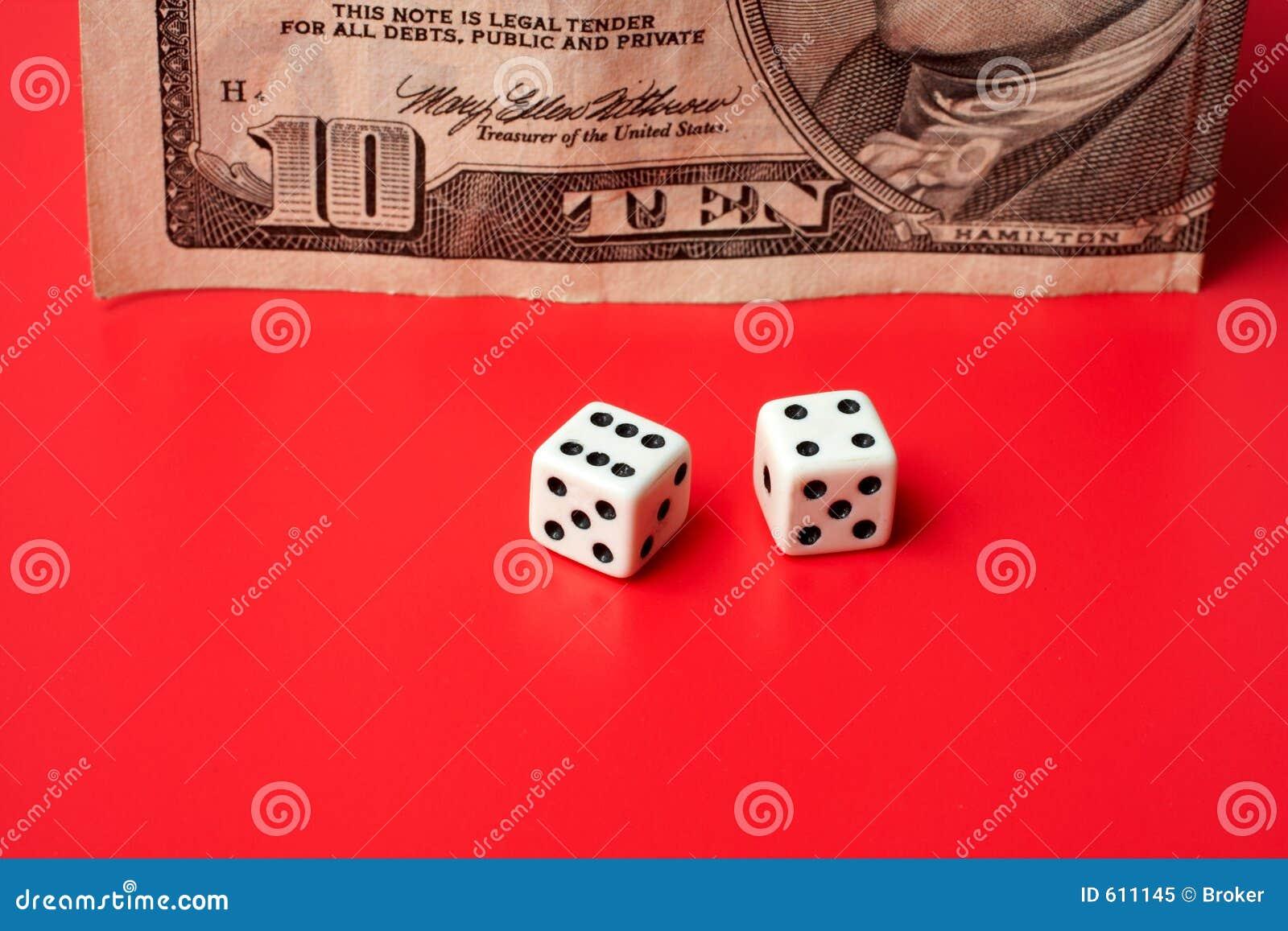 Dollar tien en dobbelt