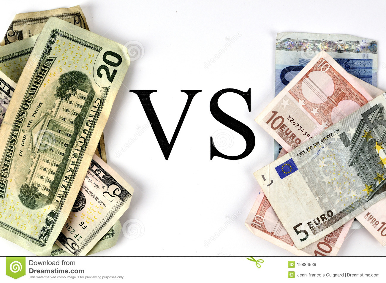 dollar versus euro This euro and united states dollar convertor is up to date with exchange rates from september 23, 2018 enter the amount to be converted in the box to the left of euro use swap currencies to make united states dollar the default currency.