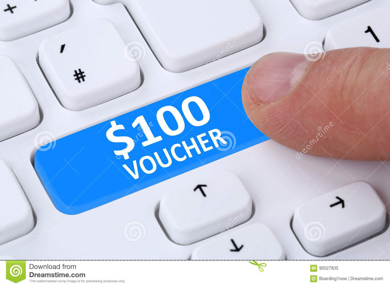 100 dollar voucher gift discount sale online shopping e for Online retailer for sale
