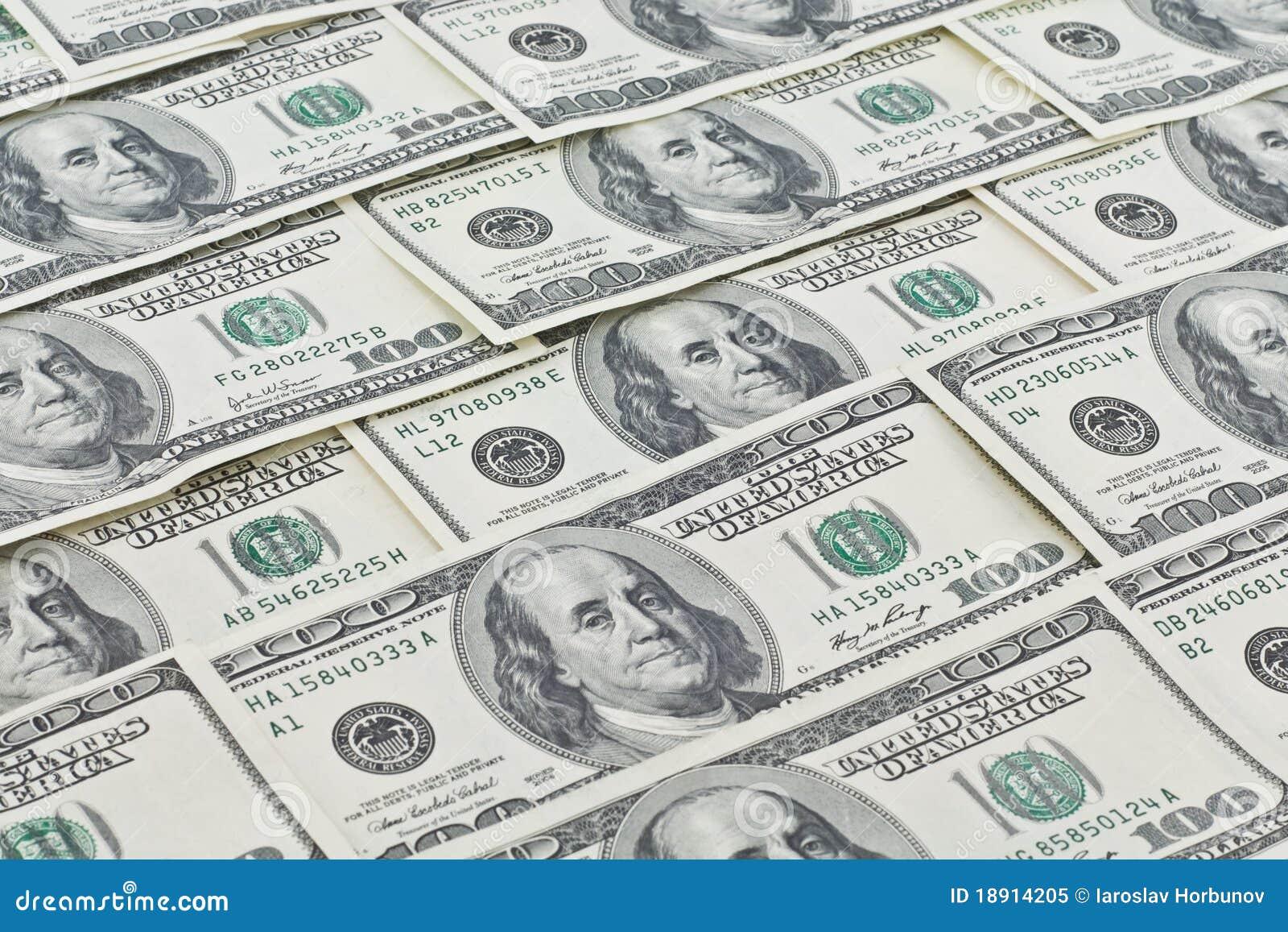 Dollar wallpaper royalty free stock photo image 18914205 - Dollar wallpaper ...