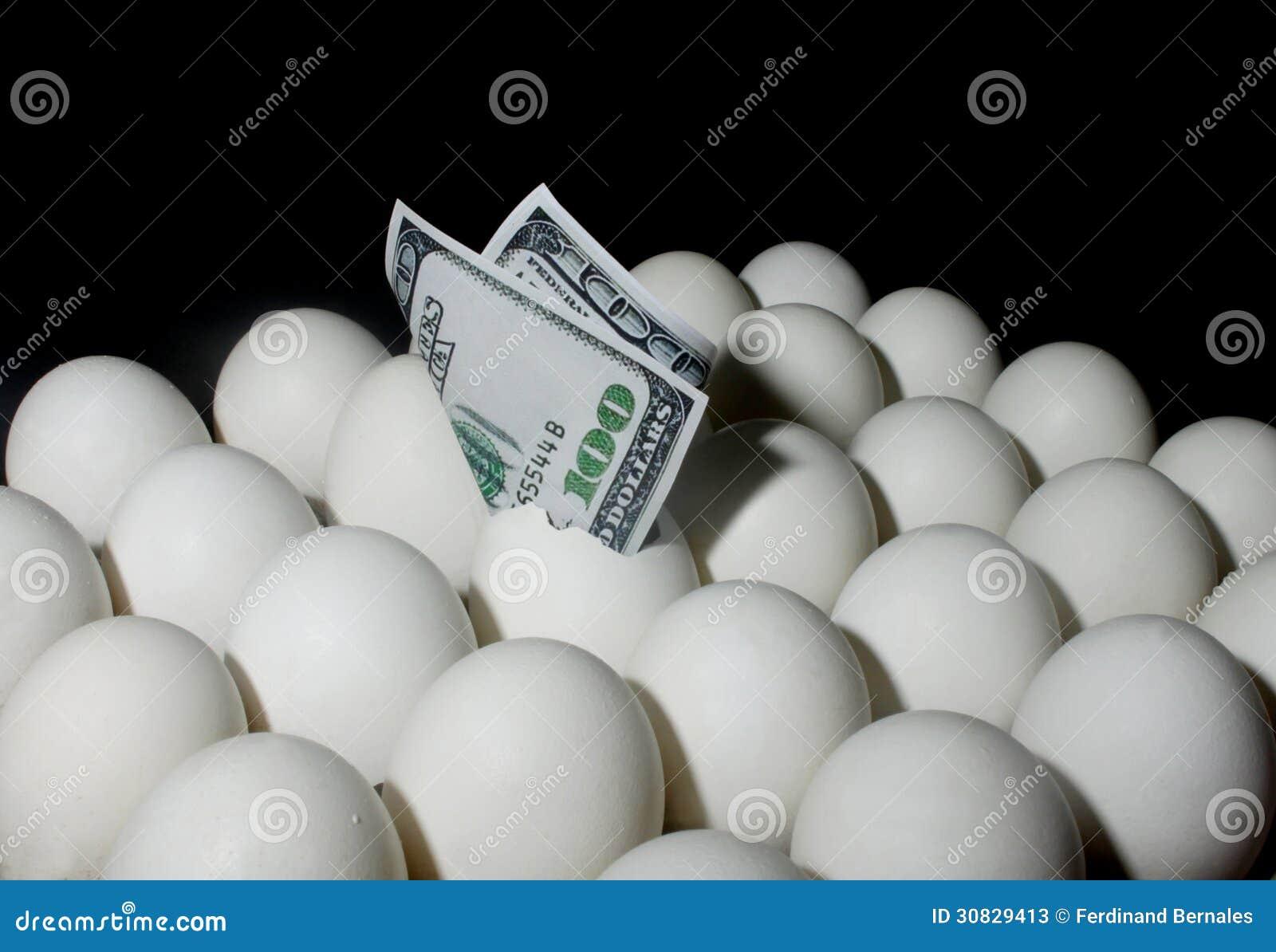 Dollaro in uova