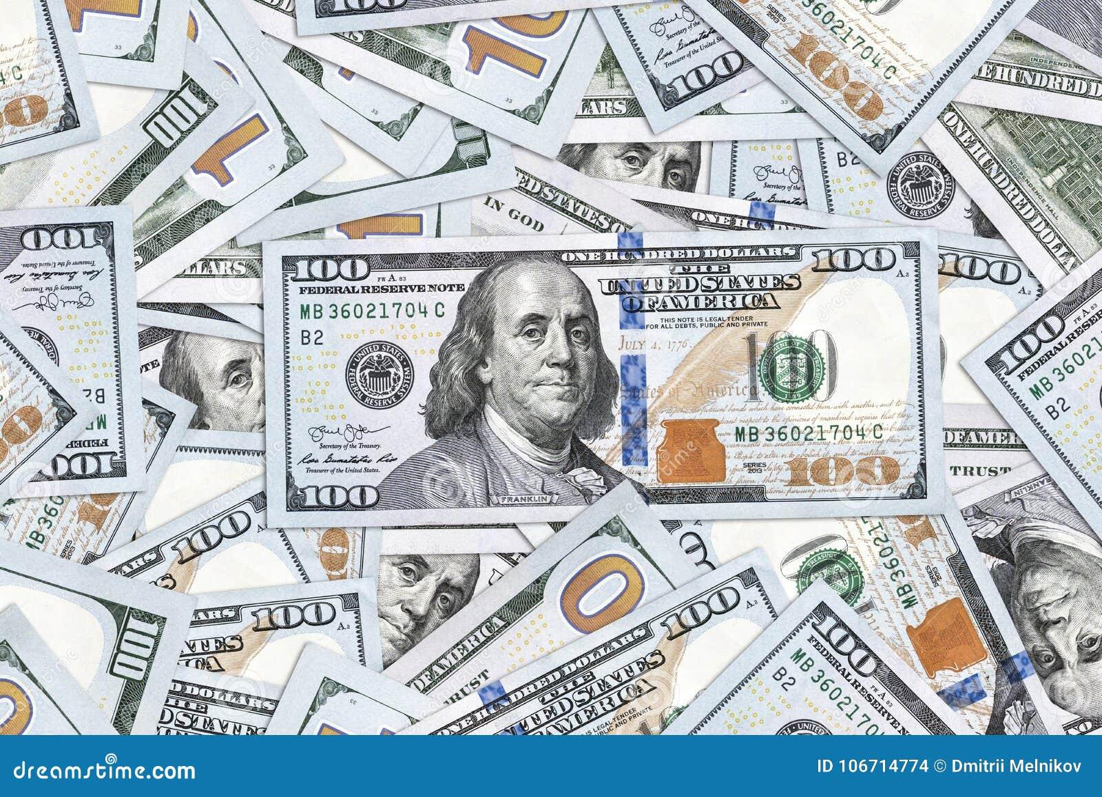 Dollars Background  Money Texture Stock Photo - Image of