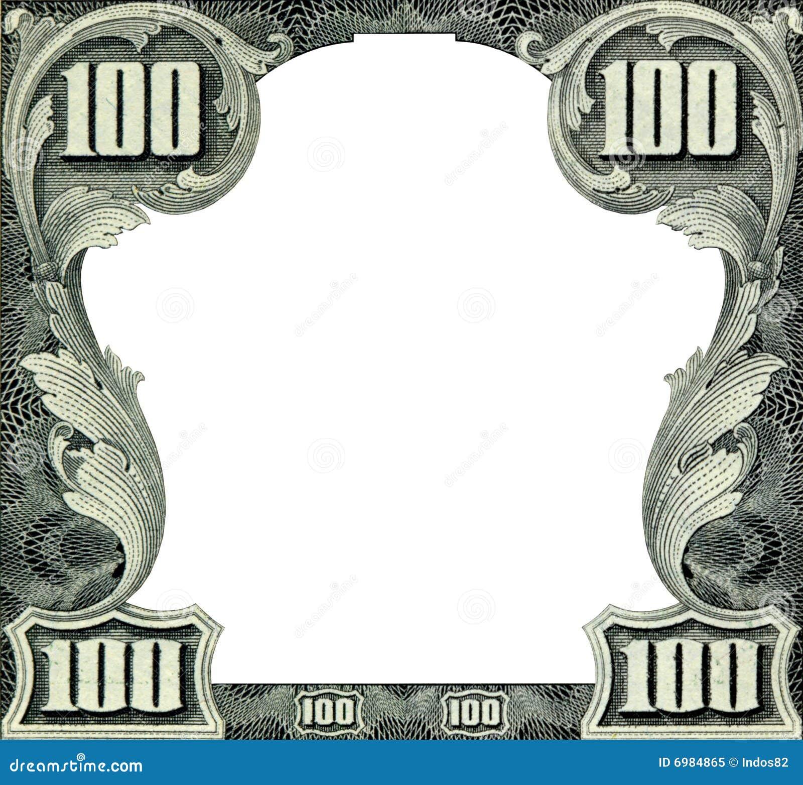 Dollars Frame Royalty Free Stock Photo - Image: 6984865