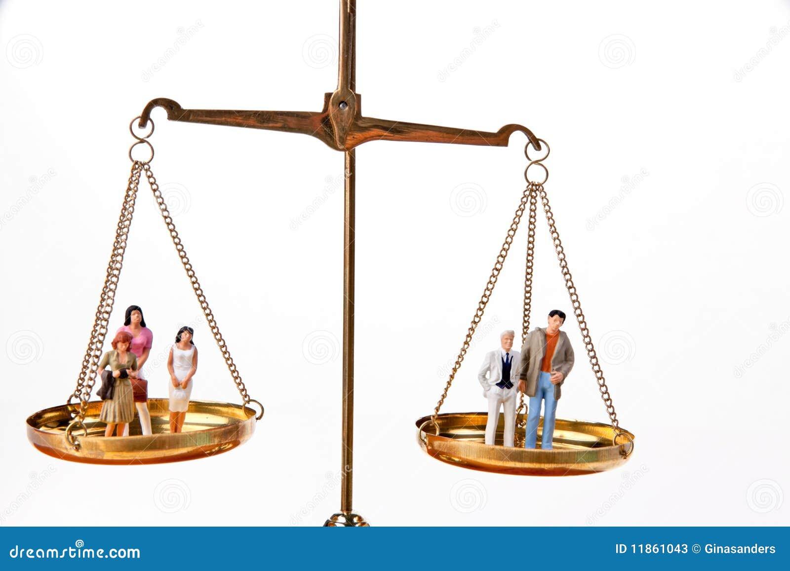Dolls On Balancing Scales Stock Photos Image 11861043