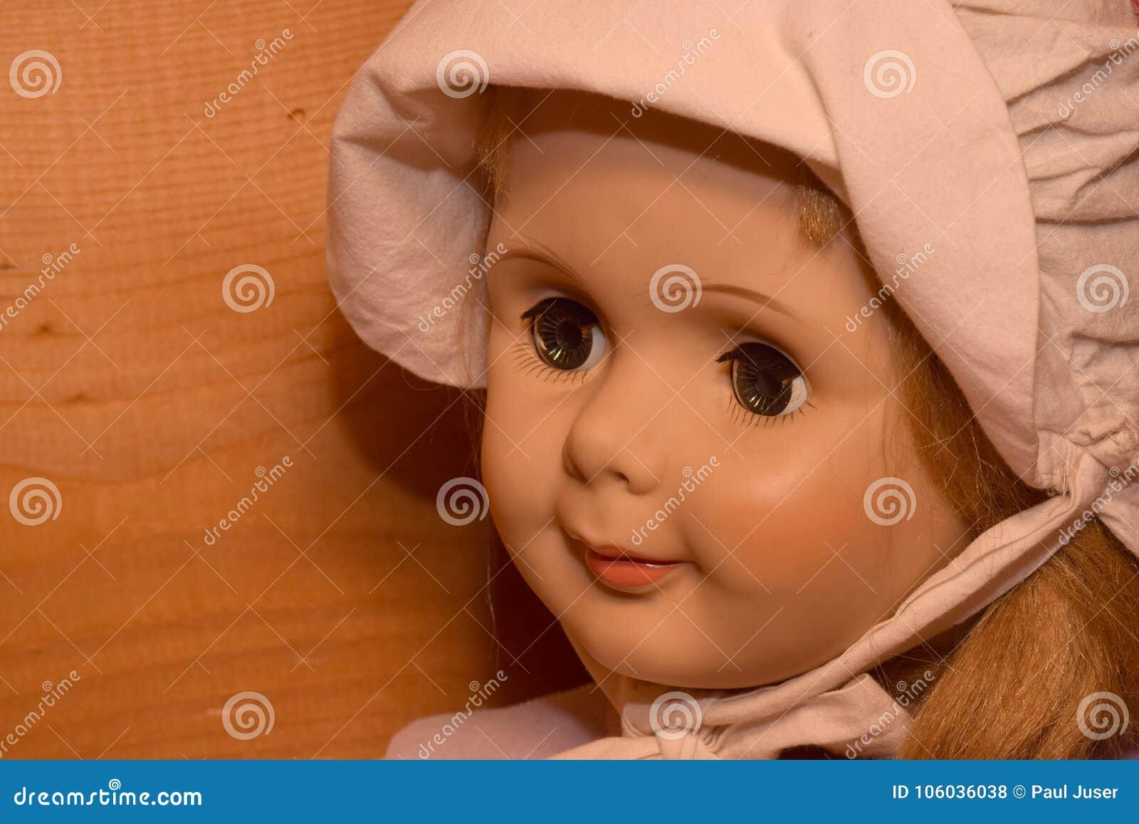 dolls with creepy eyes stock photo. image of demonic - 106036038