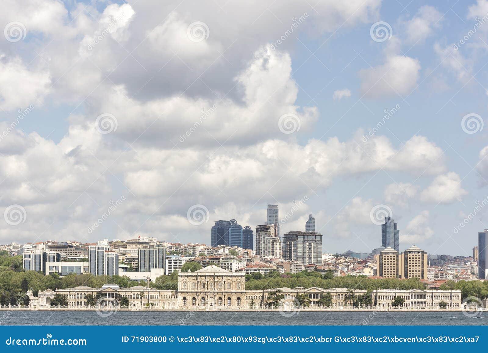 Dolmabahce παλάτι Τουρκία της Κωνσταντινούπολης