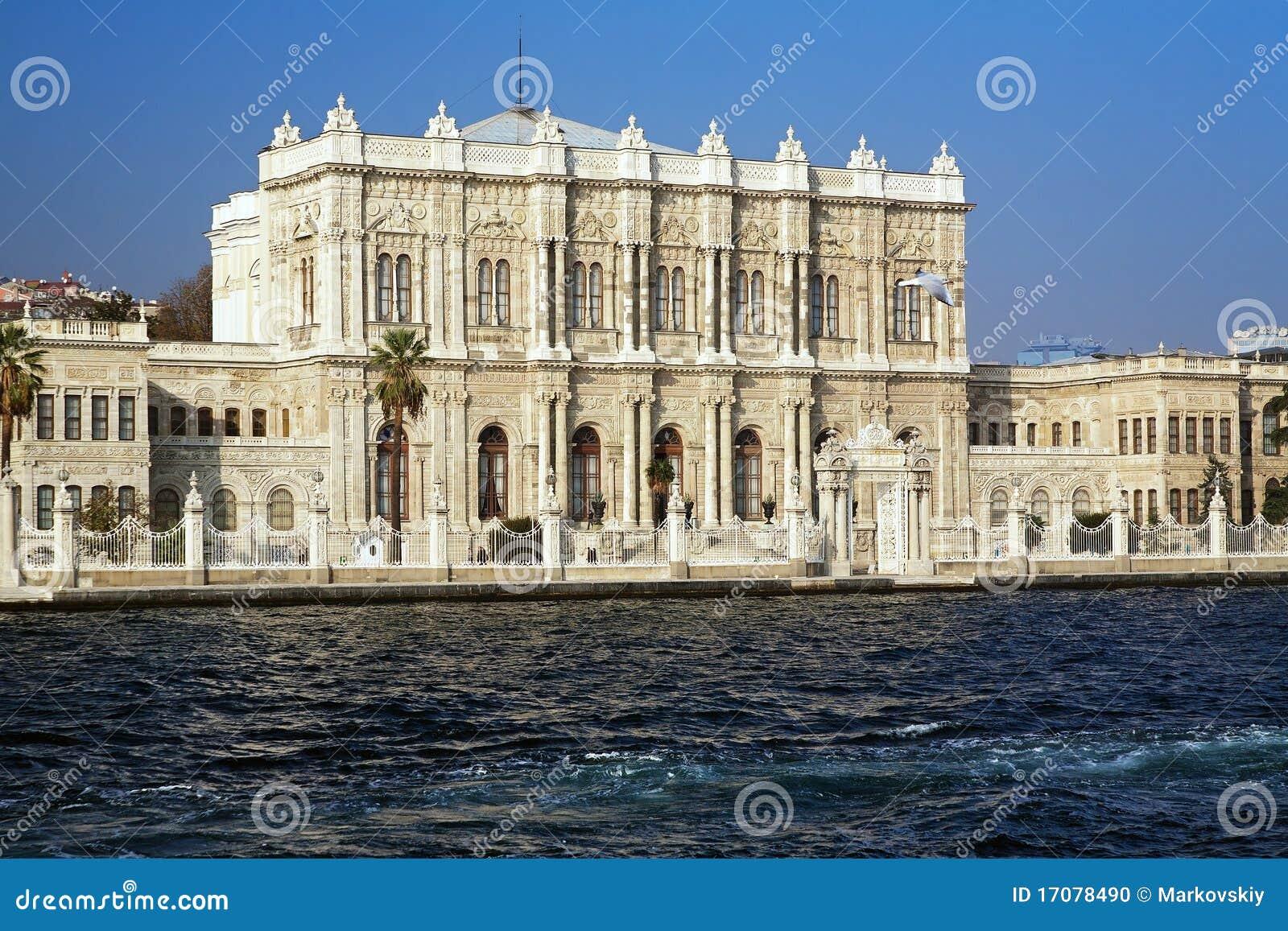 Dolmabahce Palast an der Bosporus-Küste, Istanbul