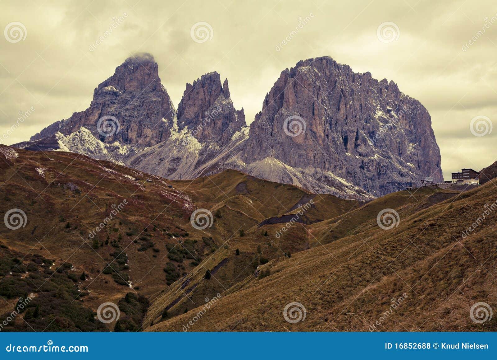 Dolomites do inverno