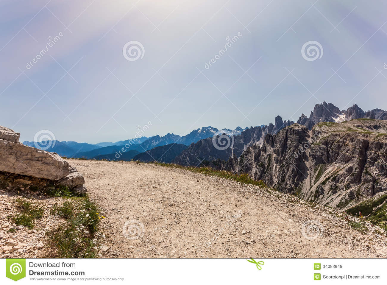 Dolomites mountain in summer royalty free stock images for Best view of dolomites