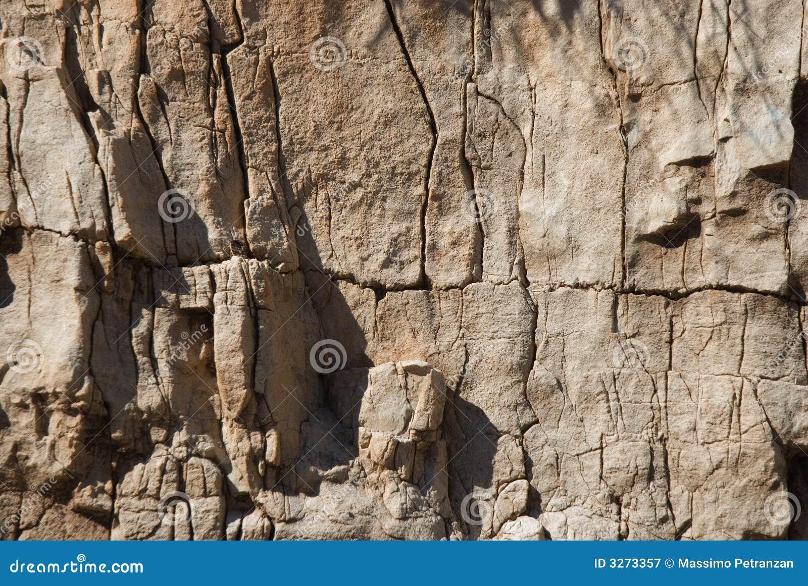 Dolomiti岩石表面