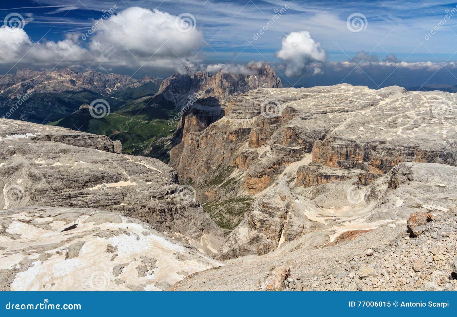 Dolomiti - vista de Piz Boe