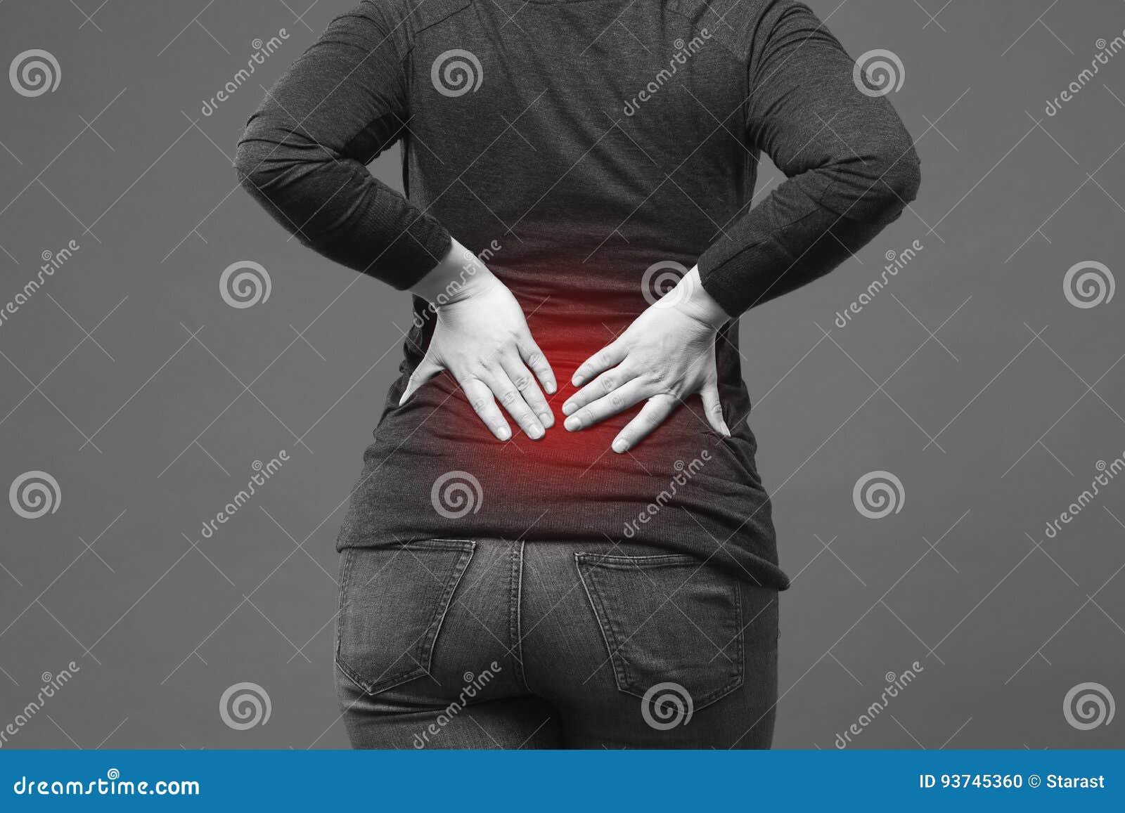 Dolor De Espalda, Inflamación Del Riñón, Dolor En Cuerpo Del ` S De ...