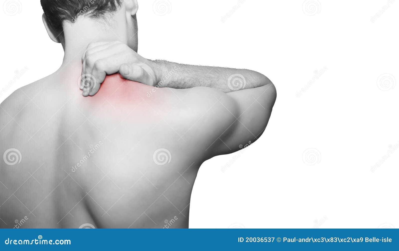Dolor de la parte posterior/de cuello