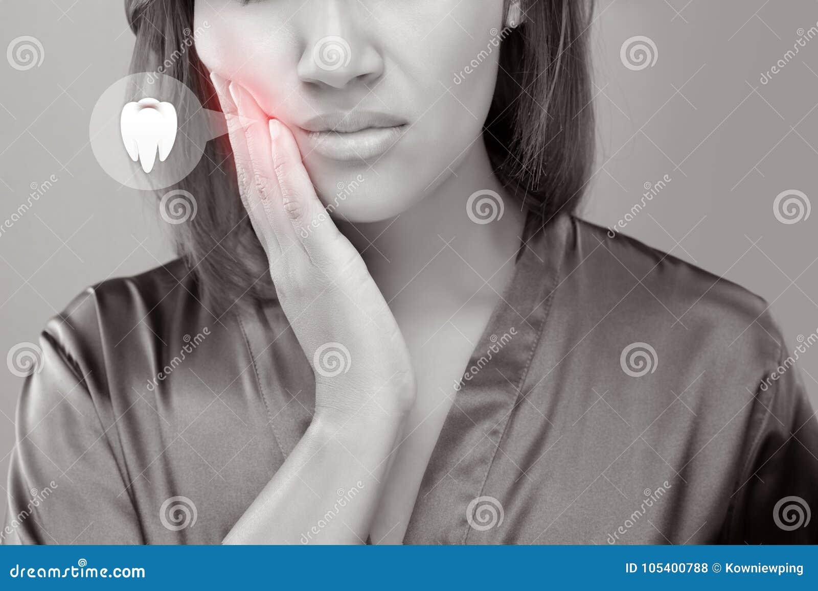 Dolor de muelas foto de archivo. Imagen de dental..