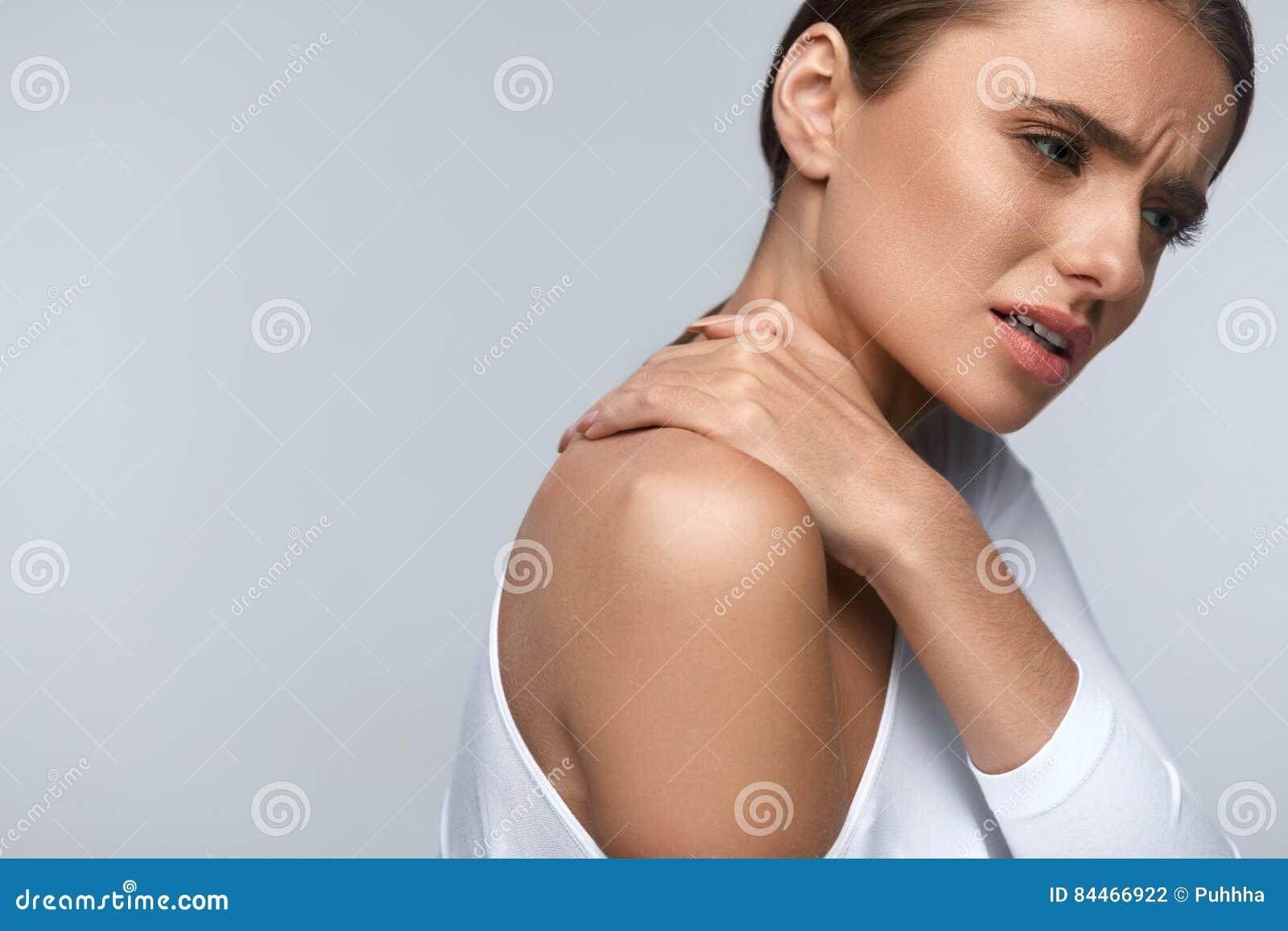 De el cuello tension en sensacion
