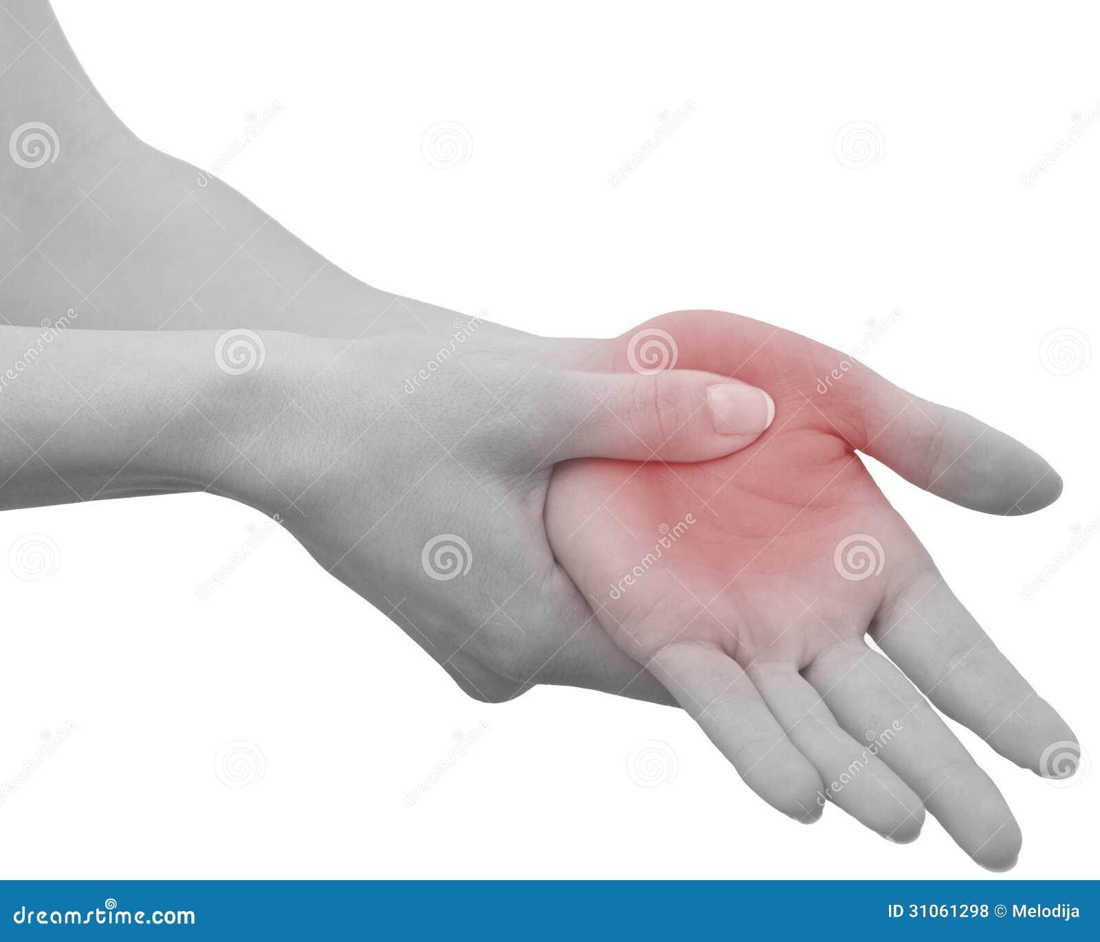 Dela palma en mano la dolor