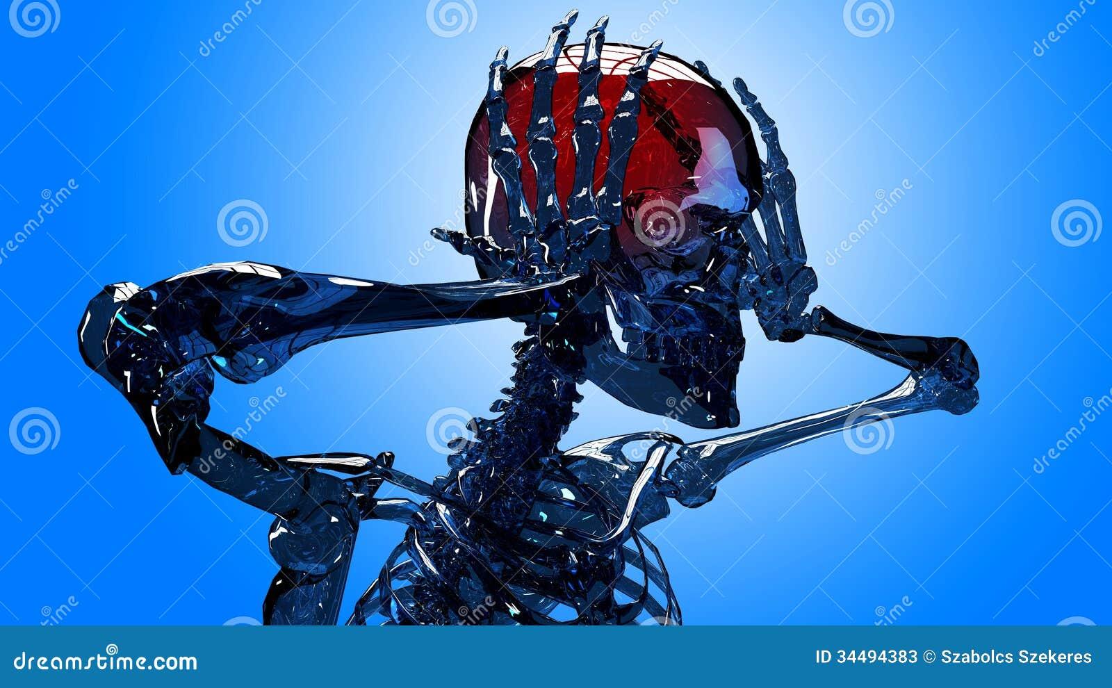 Dolore capo dello scheletro