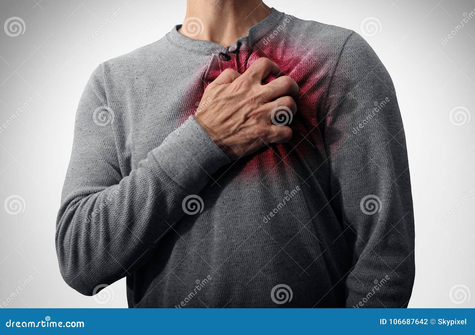 Dolore di attacco di cuore
