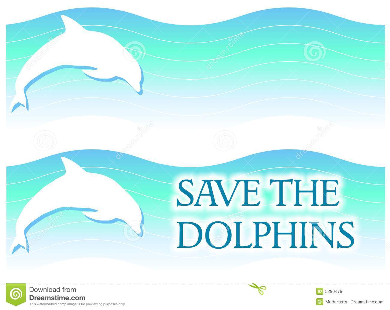 Dolphin Logos or Banners