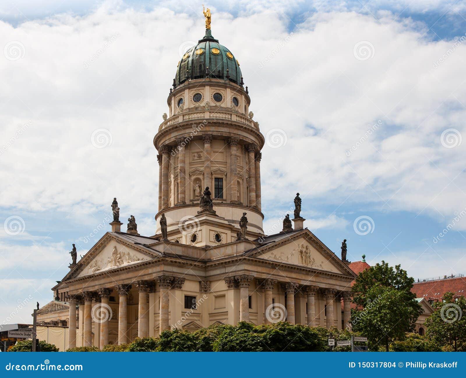 DOM di Franzosischer, cattedrale francese a Berlino, Germania