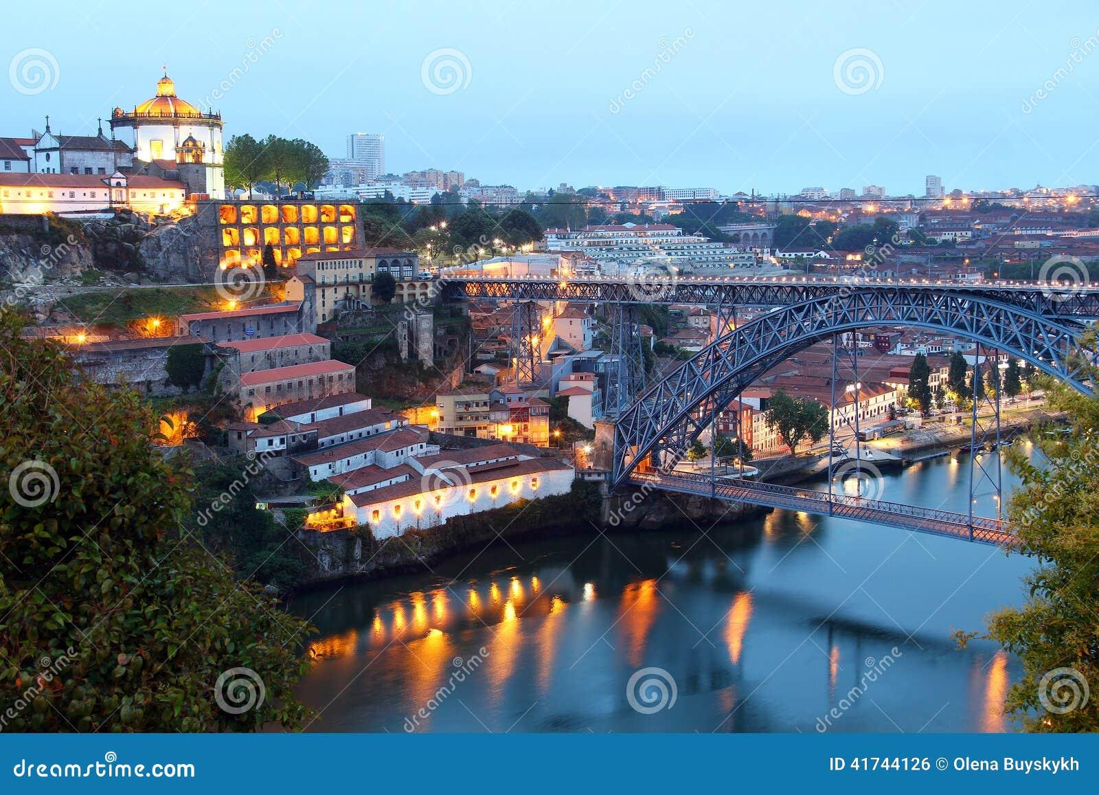 Dom Luis Bridge and Vila Nova de Gaia, Portugal