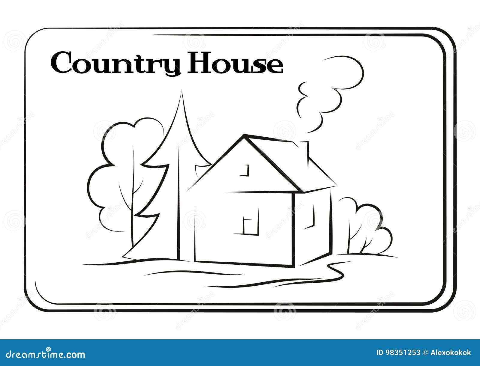 Dom Na Wsi, piktogram