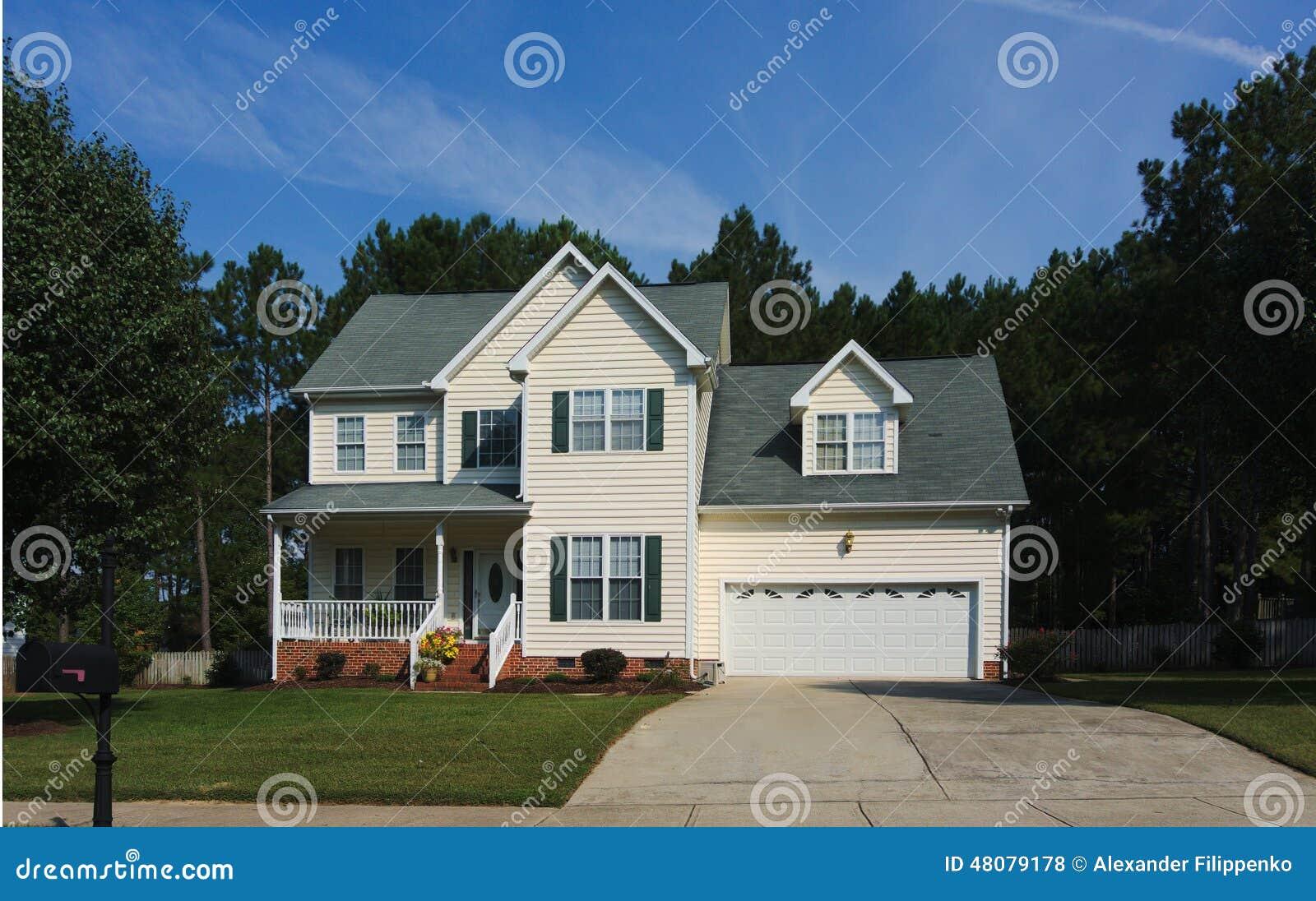 Dom otaczający drzewami