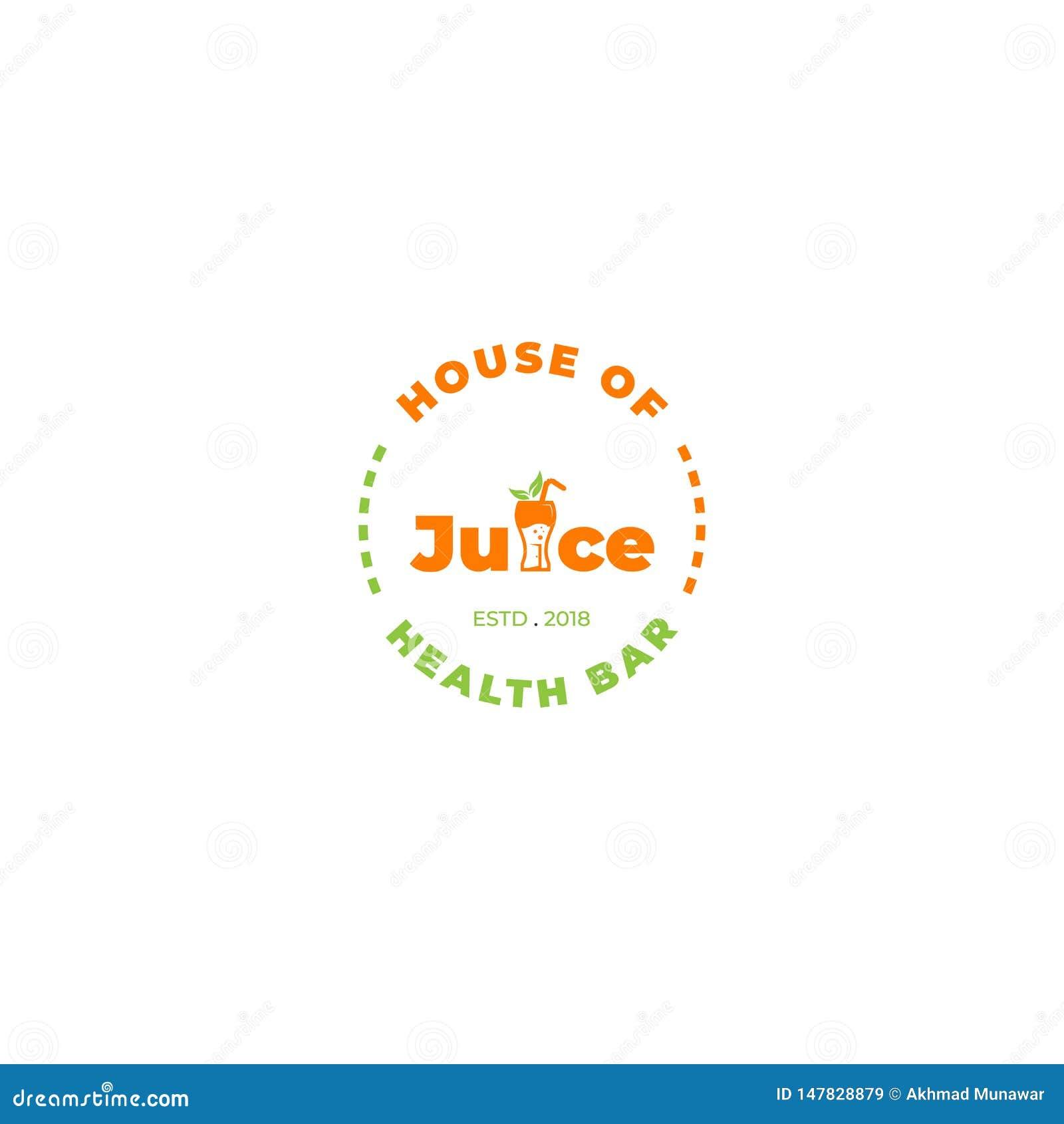 Dom soku logo dowcipu literowanie