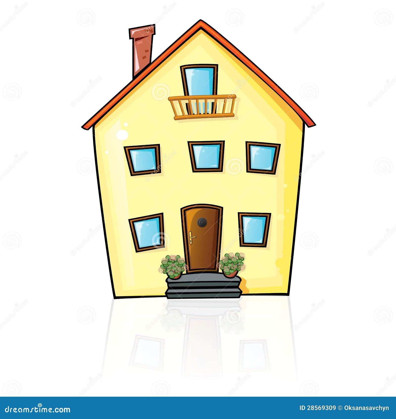 Dom z odbiciem