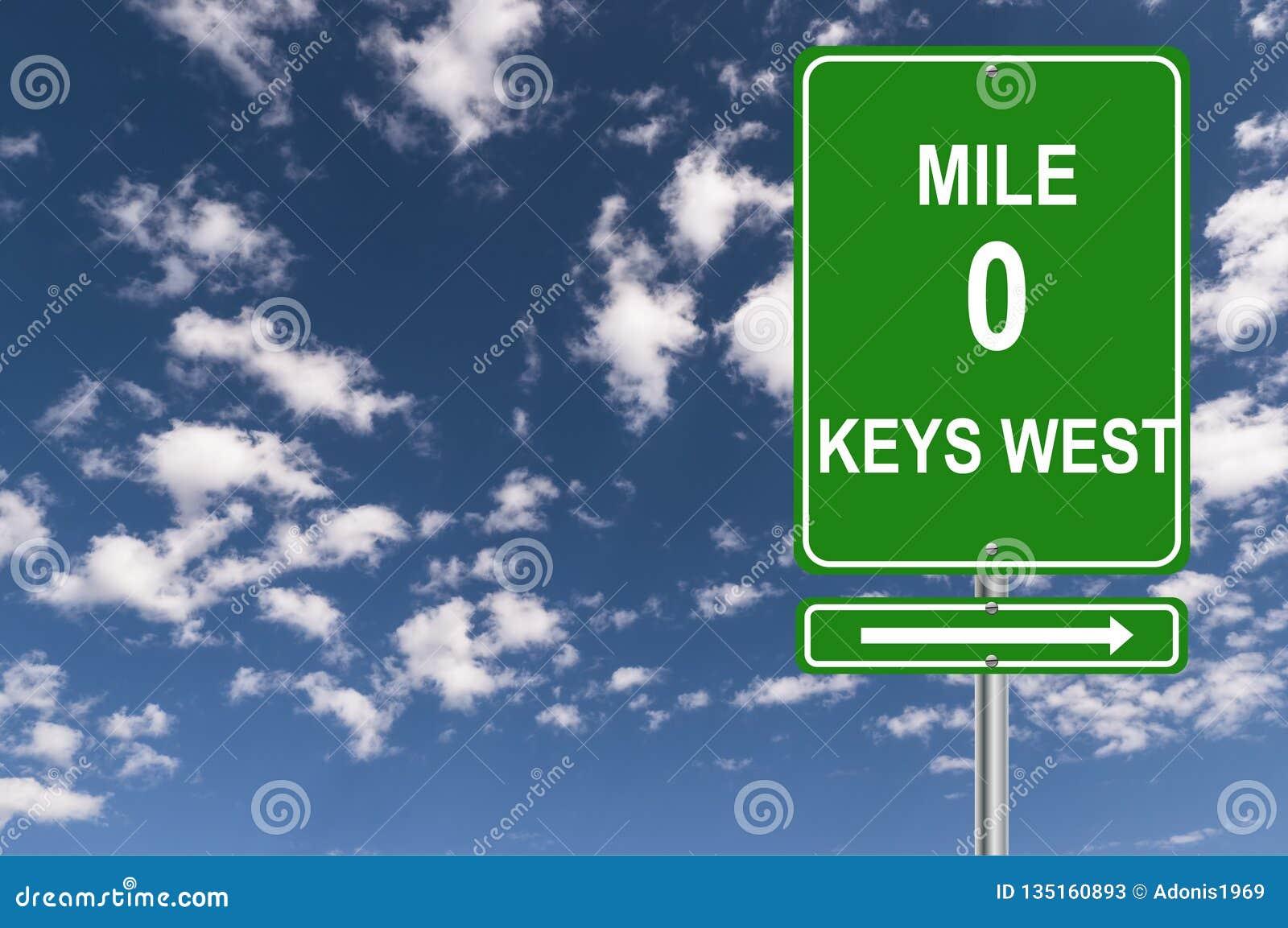 Mile 0 Keys West