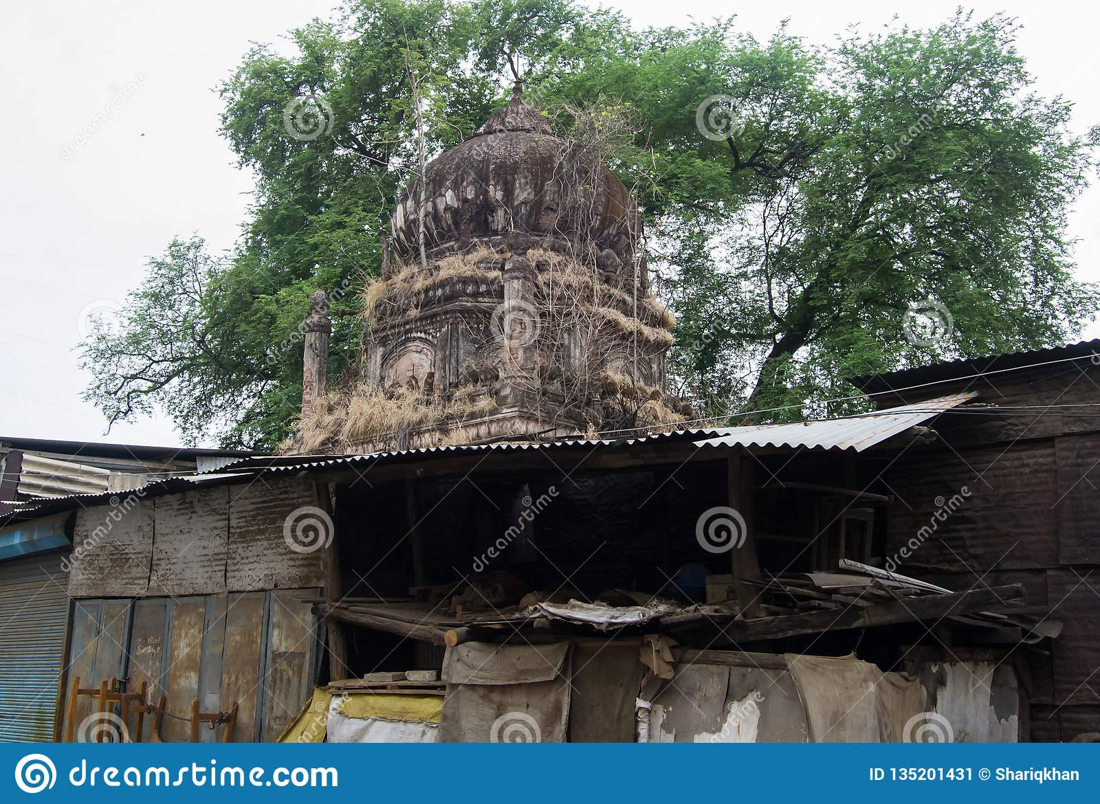 Dome of Ancient Tomb Indore India