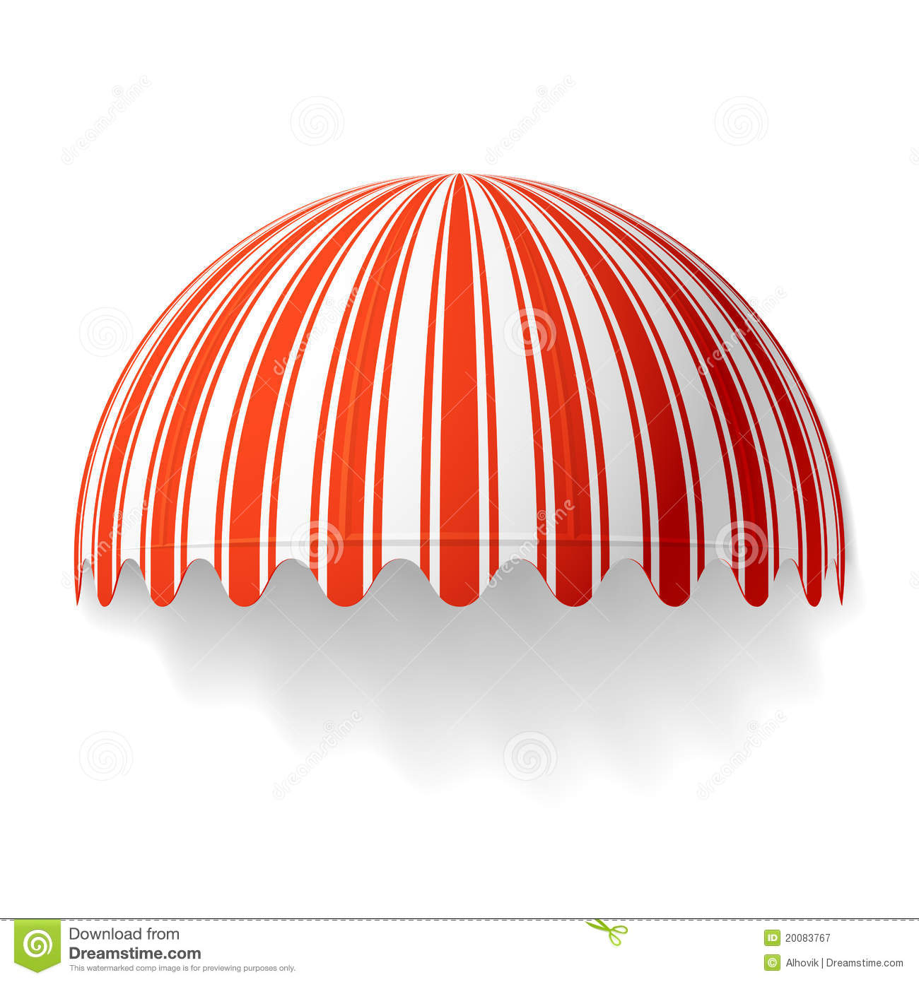 Dome Awning Royalty Free Stock Photography Image 20083767