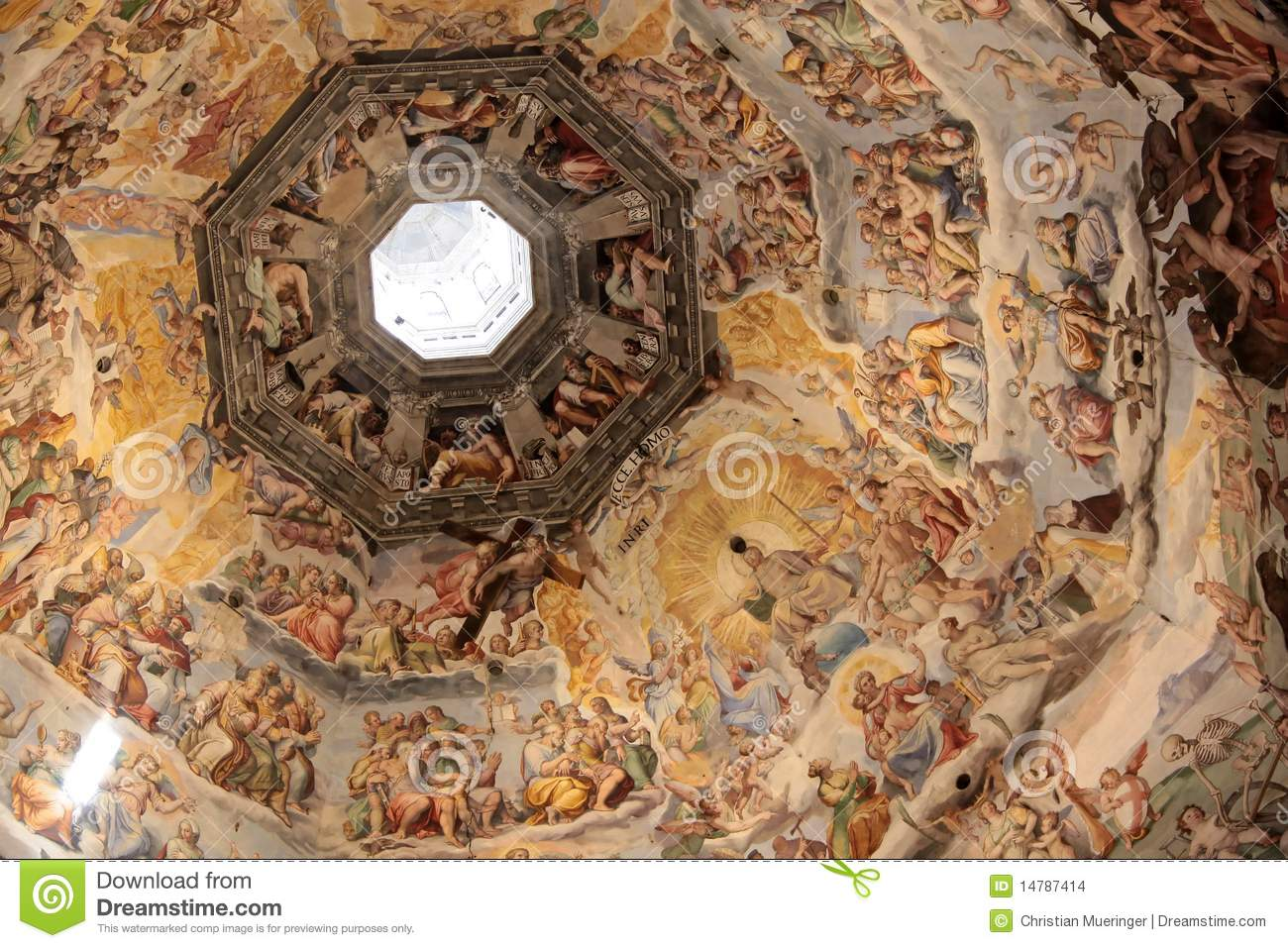 the dome of the cathedral florence essay Florence's cathedral—santa maria del fiori, or simply il duomo, as it is  but,  brunelleschi's impressive dome succeeded in capturing the.