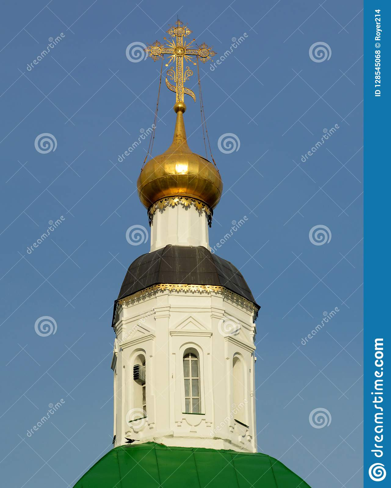 Dome of the Church in Vladimir
