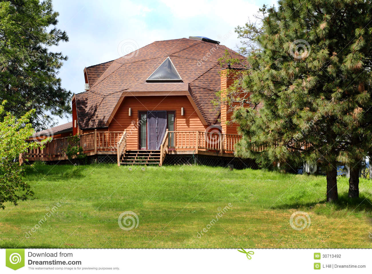 Dome Home Stock Photography Image 30713492
