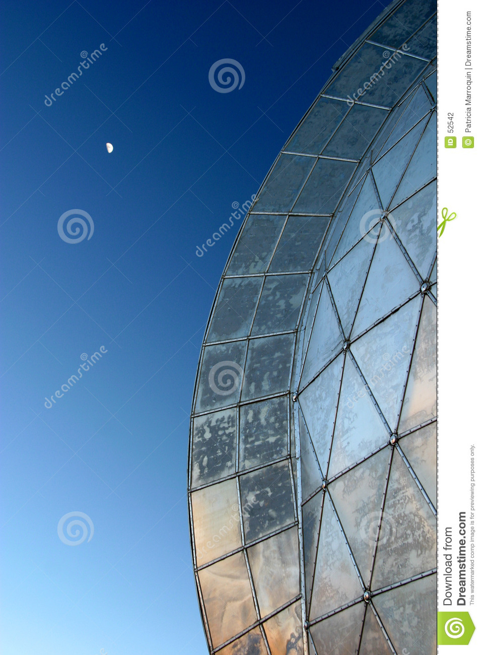 Dome and Moon