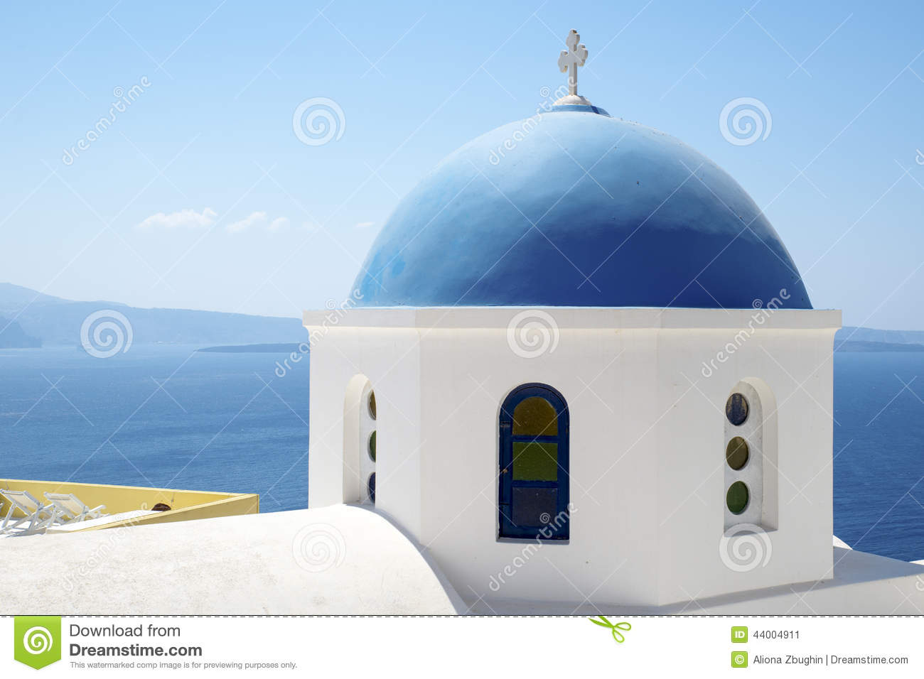 Dome Of Church Of The Assumption Calaceite Stock Image