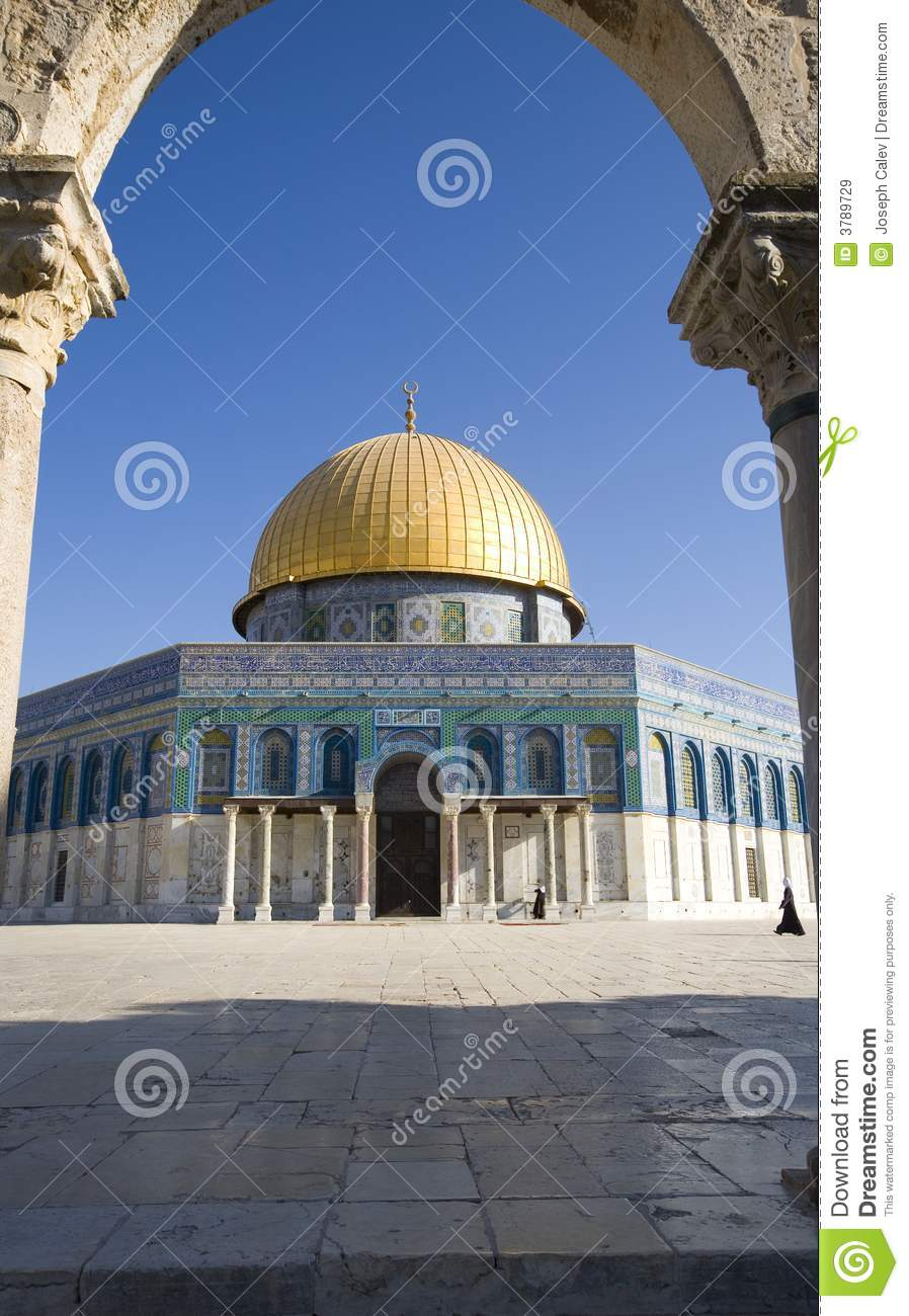 Dome Of The Rock Royalty Free Stock Images Image 3789729