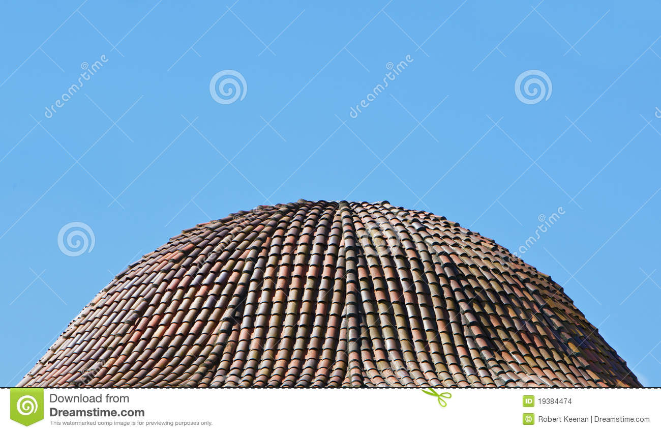 Dome Of Roof Tile Stock Photo Image Of Structure Tile