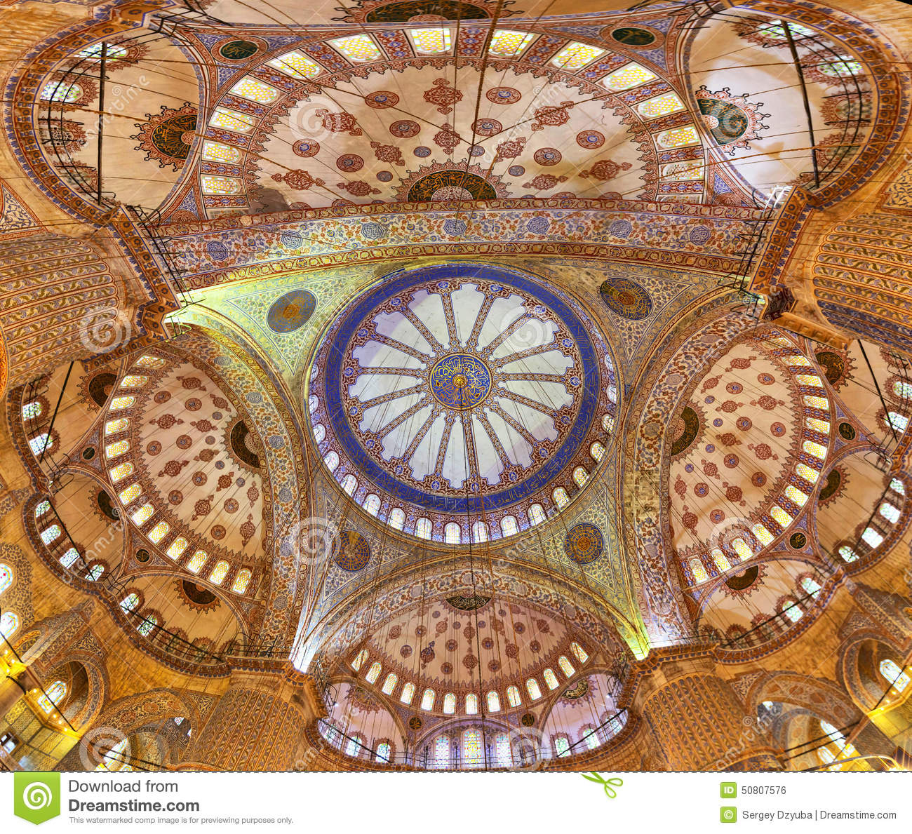 Dome of the Sultanahmet Mosque