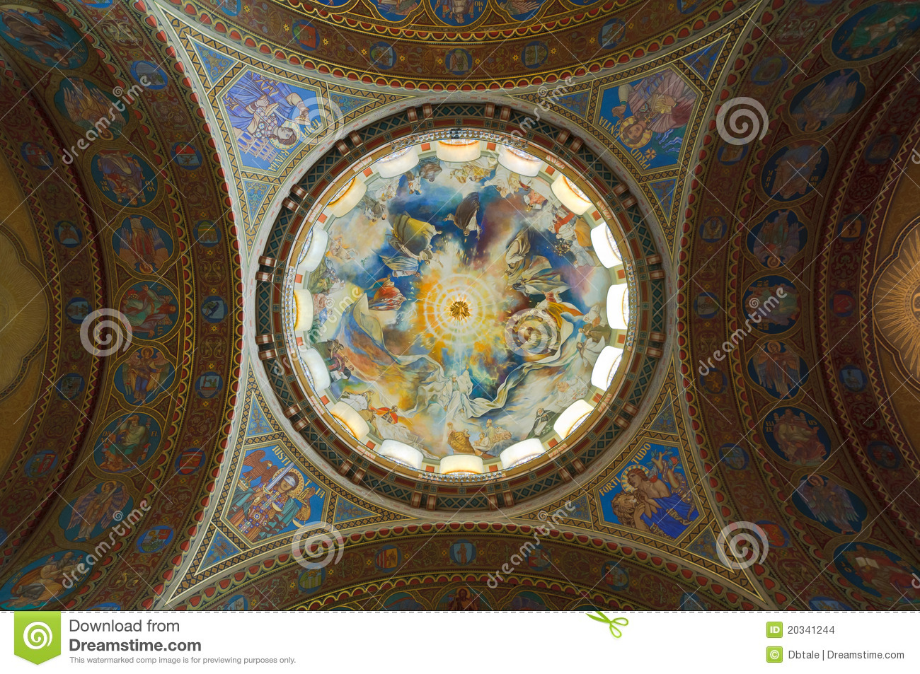 Dome of the votive church