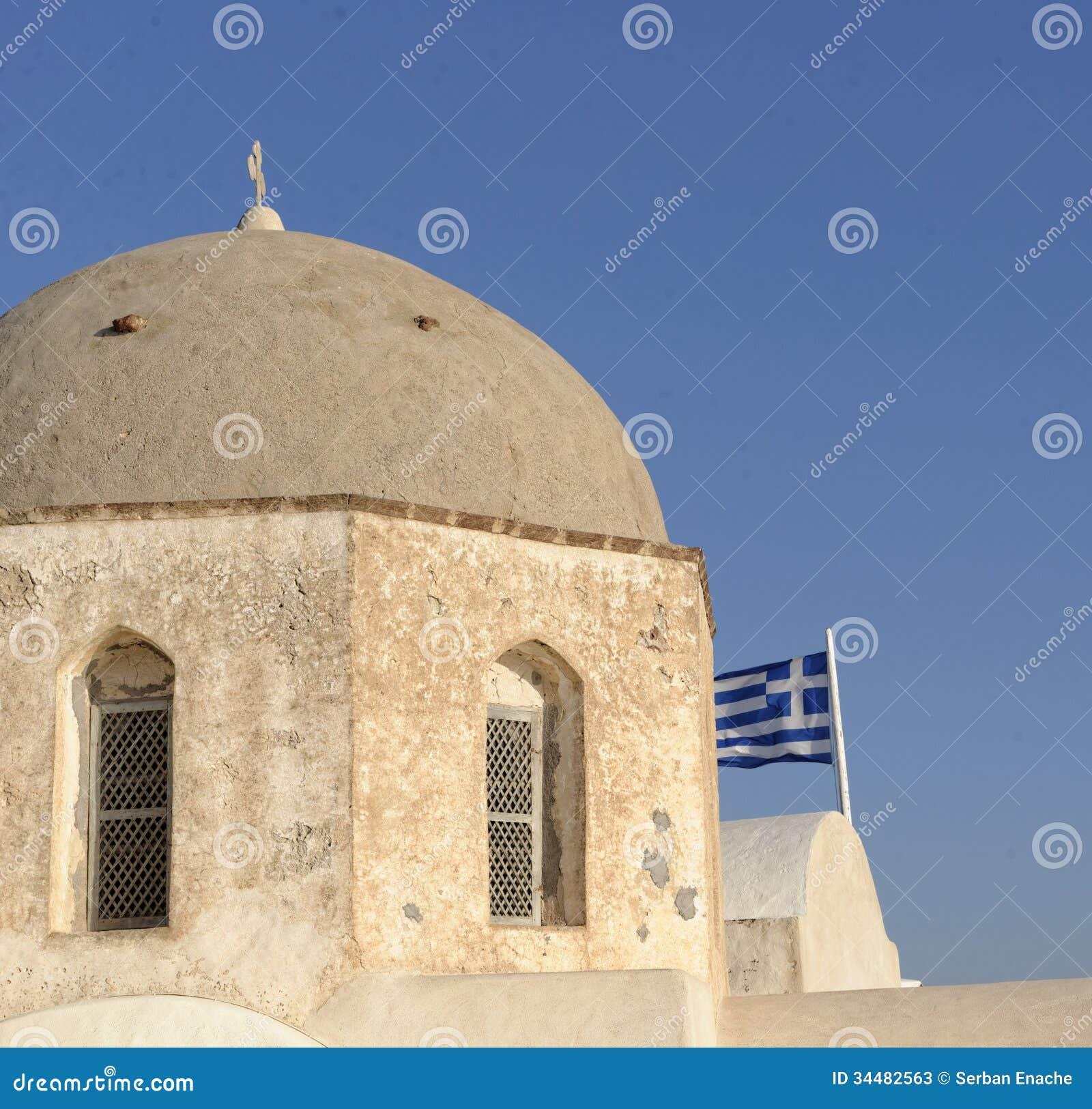 Domed Grecki kościół