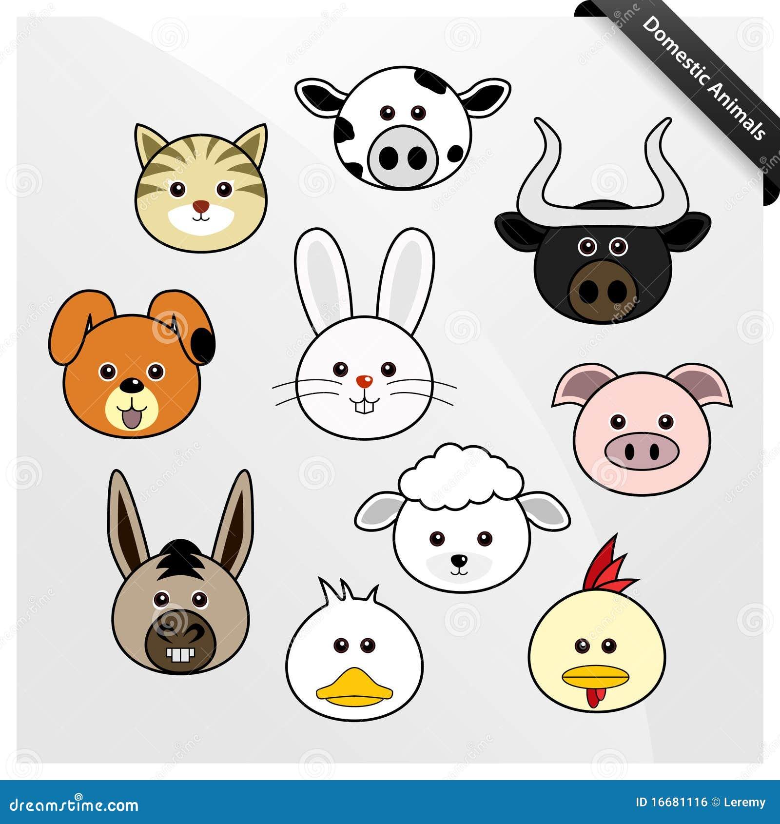 domestic animal cute cartoon 16681116