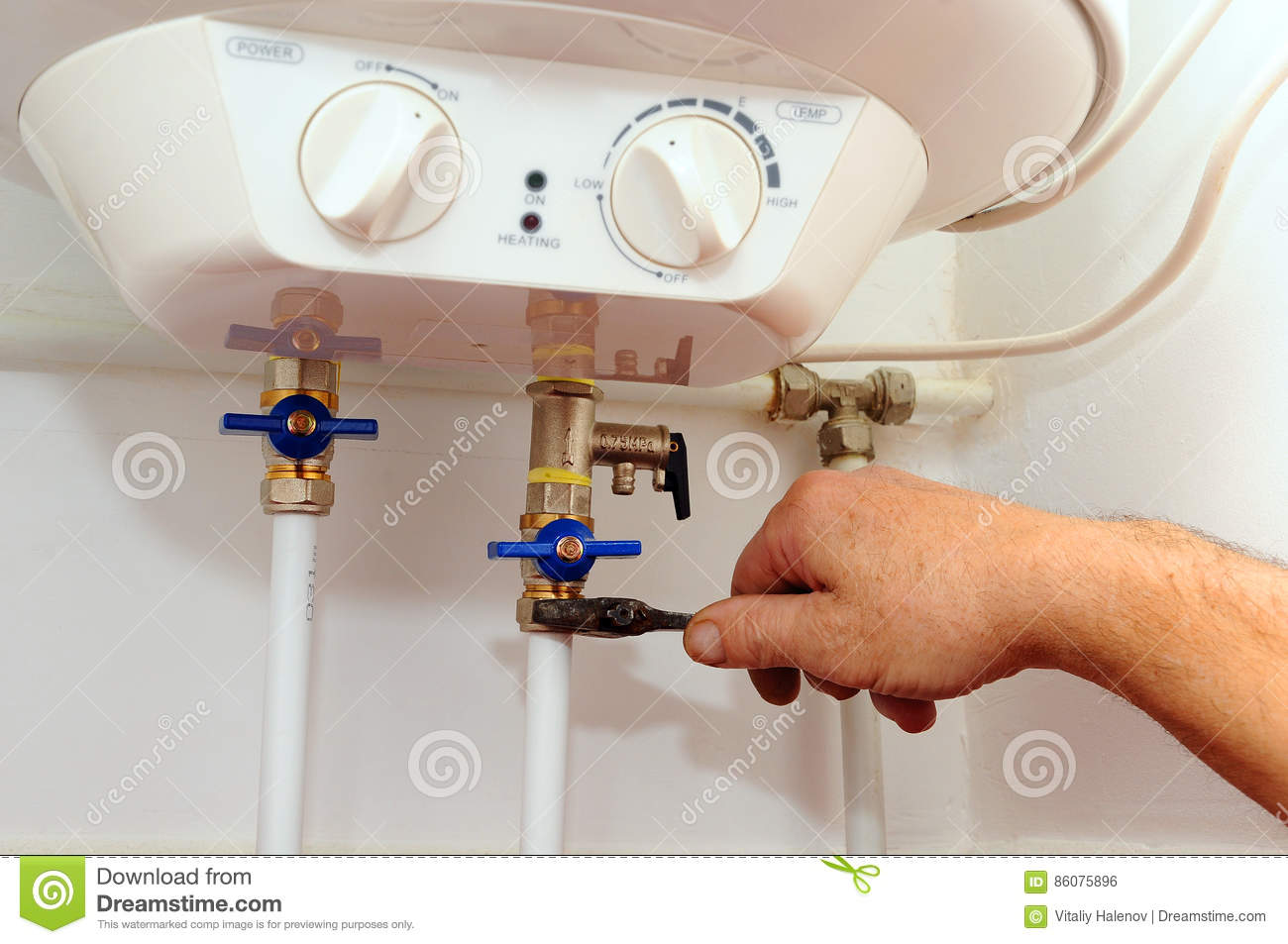 Domestic Plumbing Connections Connection Of Home Water Heater How To Wire Electric Download Fixing Boiler